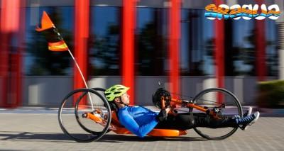 imagen de Sergio Pamplona convocado para una prueba del Equipo Cofidis de futuras promesas paralimpicas.
